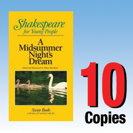 Midsummer Night's Dream (Shakespeare for Young People 10 book set) 10P8005