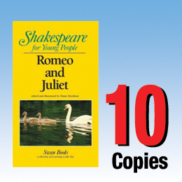 Romeo and Juliet (Shakespeare for Young People 10 book set) 10P8007