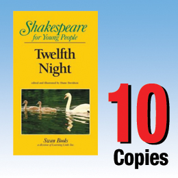 Twelfth Night (Shakespeare for Young People 10 book set) 10P8010
