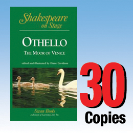 Othello, the Moor of Venice (Shakespeare on Stage 30 book set) 30P8025
