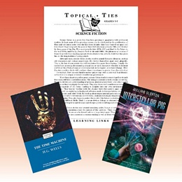 Science Fiction Topical Ties Set 5-7 7TSF