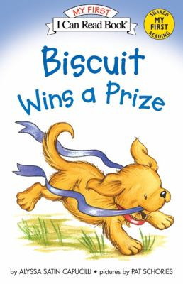 Biscuit Wins a Prize B0909