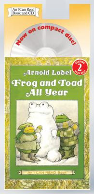 FROG AND TOAD ALL YEAR (Book and CD) P8987
