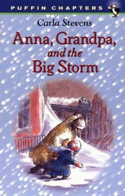 Anna, Grandpa, and the Big Storm B2545