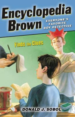 Encyclopedia Brown Finds the Clues B0451