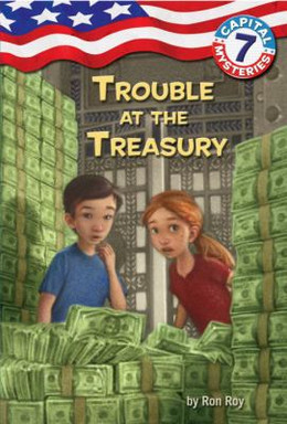 TROUBLE AT THE TREASURY (CapMys#7) B3584