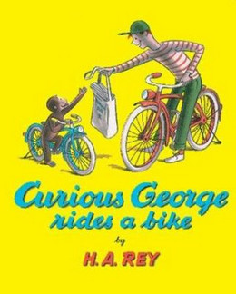 Curious George Rides a Bike B0607