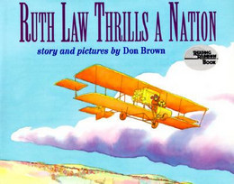 RUTH LAW THRILLS A NATION, Brown B3449