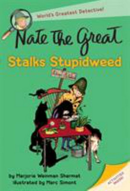 NATE THE GREAT STALKS STUPIDWEED, Sharmat B2480