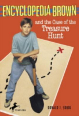 Encyclopedia Brown and the Case of the Treasure Hunt B2486