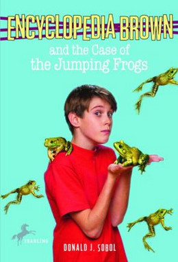 Encyclopedia Brown and the Case of the Jumping Frogs B7680