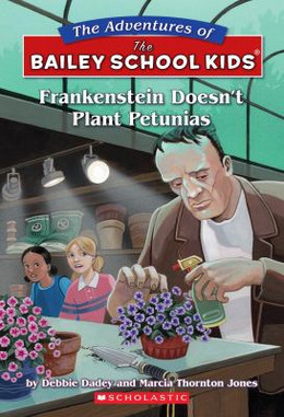 Frankenstein Doesn't Plant Petunias B3299