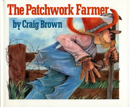 Patchwork Farmer (Hardcover), Brown BH1545