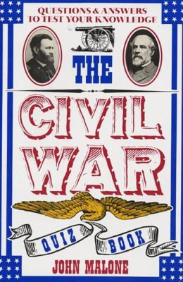 Civil War Quiz Book B1909