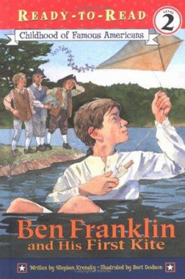 Ben Franklin & His First Kite B3686