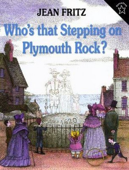 WHO'S THAT STEPPING PLYMOUTH ROCK? B3467