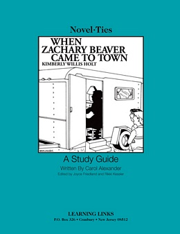 When Zachary Beaver Came to Town (Novel-Tie) S2218