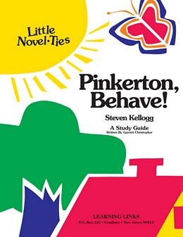 Pinkerton, Behave! (Little Novel-Tie) L2130