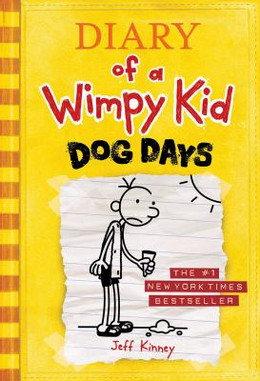 DIARY OF A WIMPY KID: DOG DAYS (Hardcover), Kinney BH2585