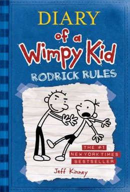 DIARY OF A WIMPY KID: RODERICK RULES (HARDCOVER), Kinney BH1252