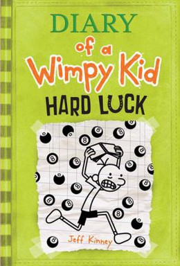 Diary of a Wimpy Kid:Hard Luck (Hardcover) BH4702
