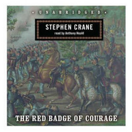 a review of stephen cranes book the red badge of courage Crane, who released the book under a pseudonym, had to pay for the  this was  followed by the red badge of courage (1895), a powerful tale of the.
