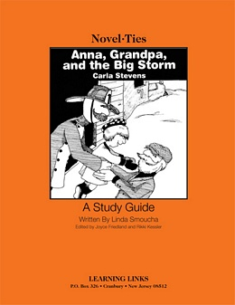 Anna, Grandpa, and the Big Storm (Novel-Tie) S2545