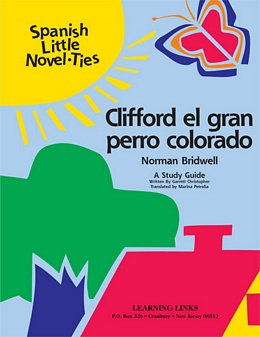 Clifford, el gran perro colorado (Spanish Novel-Tie) LS0778