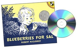 BLUEBERRIES FOR SAL (Book and CD) CD0331