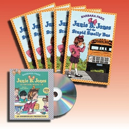 Junie B. Jones...Smelly Bus (Audio Set) AS1753