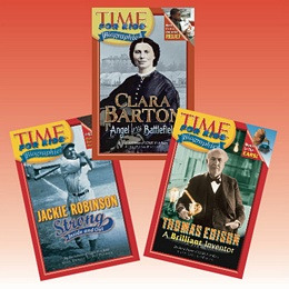 Time For Kids Biographies - Collection BGTB