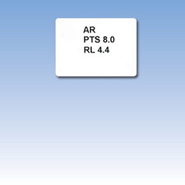 Reading Program Label - Attached CS23A