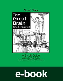 Ebook novel ties teacher guides learning links great brain novel tie ebook eb0037 fandeluxe Images