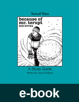 Because of Mr. Terupt (Novel-Tie eBook) EB3836