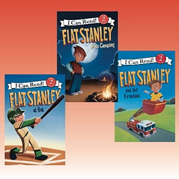 Flat Stanley I Can Read Series - Collection FSICR