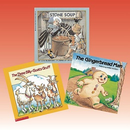 Folk Tales Grades K-3 (Unit-Ties Set 2) FT1A