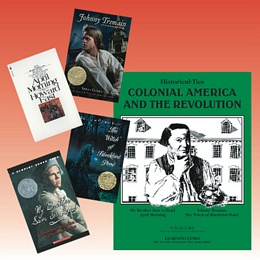 Colonial America Historical Ties Package HT1P